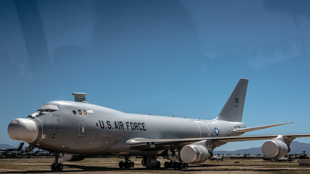 Boeing YAL-1A, Anti-Ballistic Missile Weapons System, The Boneyard, Davis-Monthan Air Force Base, Tucson, USA
