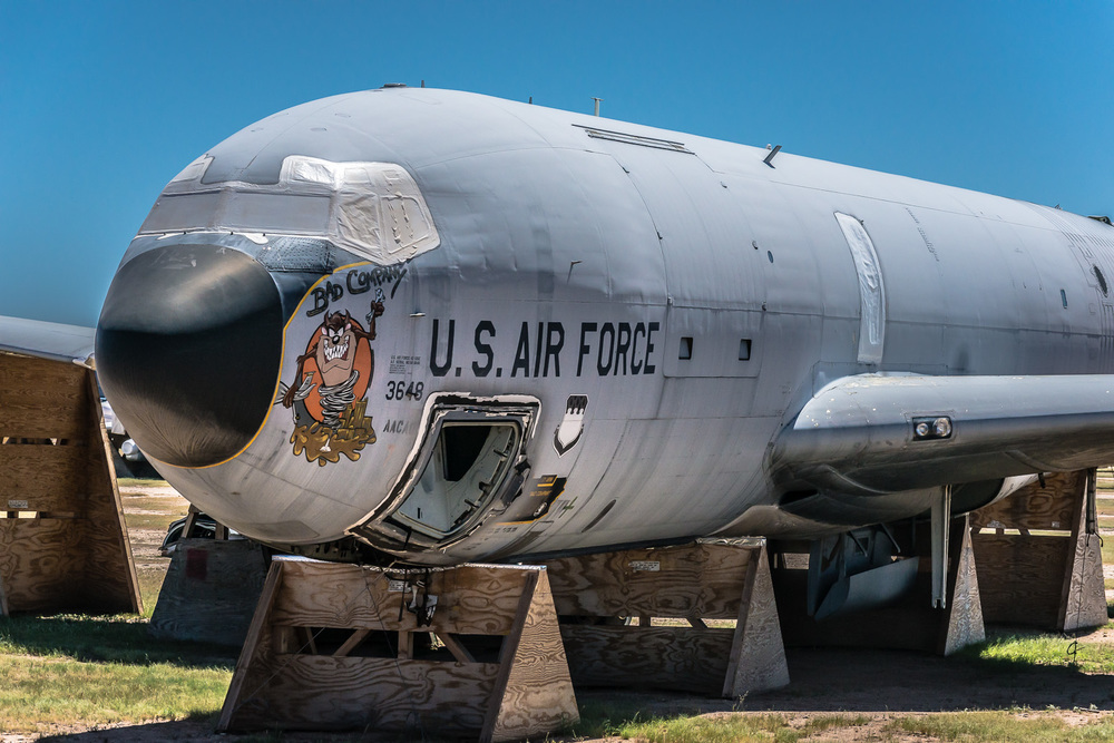 KC-135E, The Boneyard, Davis-Monthan Air Force Base, Tucson, USA