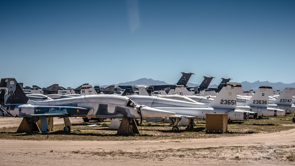 Northrop F-5, The Boneyard, Davis-Monthan Air Force Base, Tucson, USA