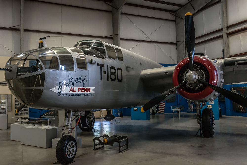 North Americain B-25J Bomber, Pima Air & Space Museum , Tucson, USA