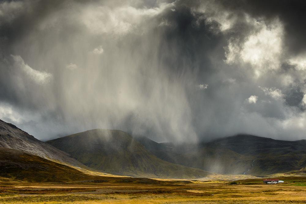 It's a rainy day, Stykkishólmur, Snaefellsnes Peninsula, Icelan