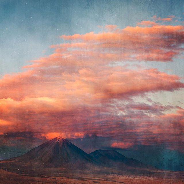 Licancabur Volcano, Atacama Desert,Chile