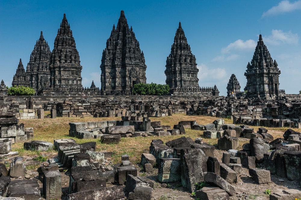 Prambanan Hindu Temple, Yogyakarta, Java, Indonesia