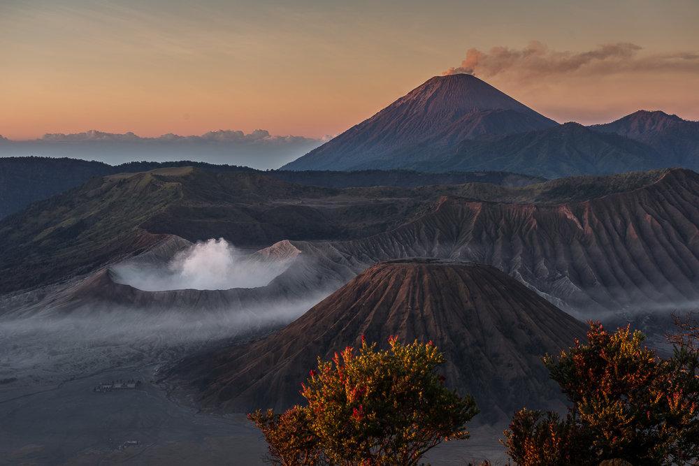 Mount Bromo & Mount Batok, Mount Semeru, East Java, Indonesia