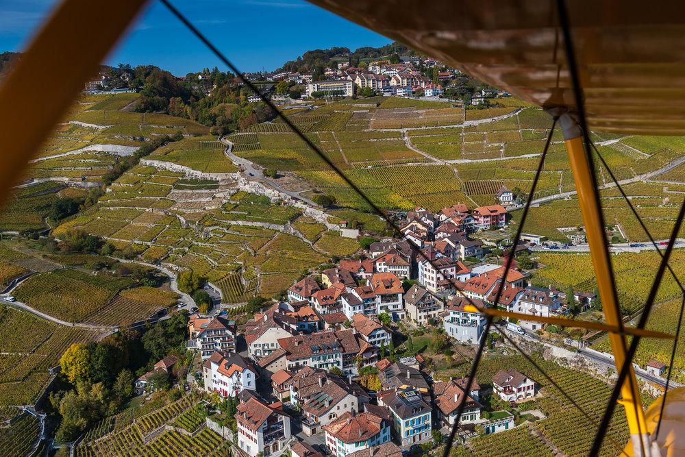 from above - switzerland