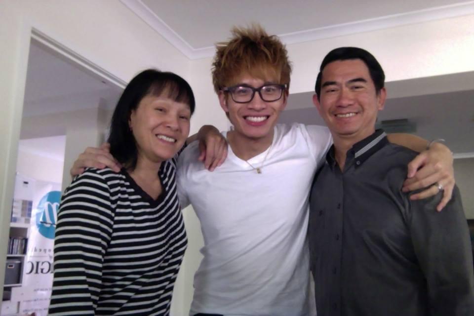 Mum and Dad Aka Super Hero's