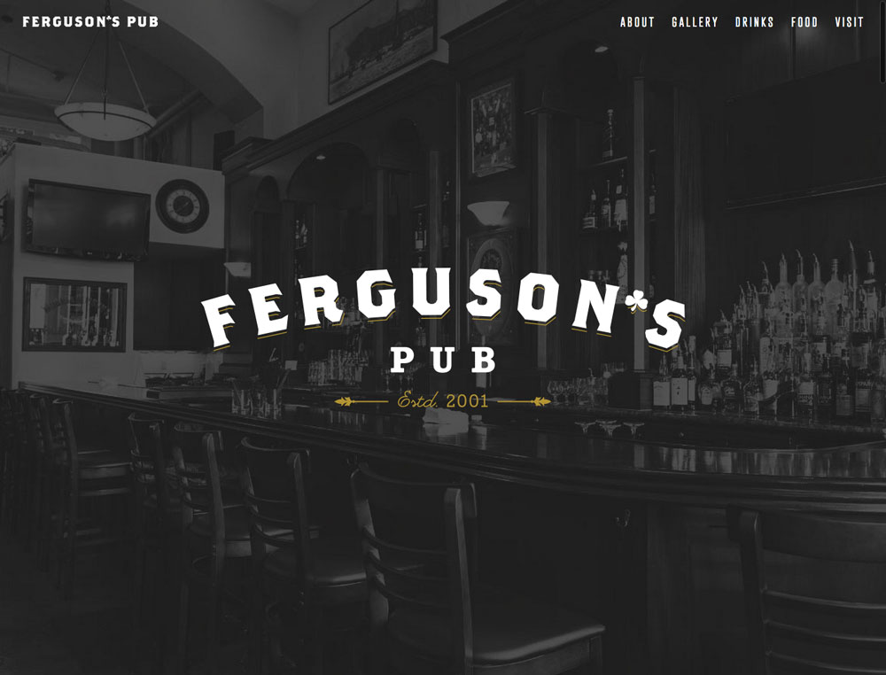 Ferguson's Pub Website