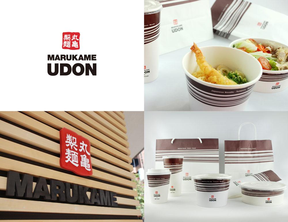 MARUKAME UDON - Store Branding