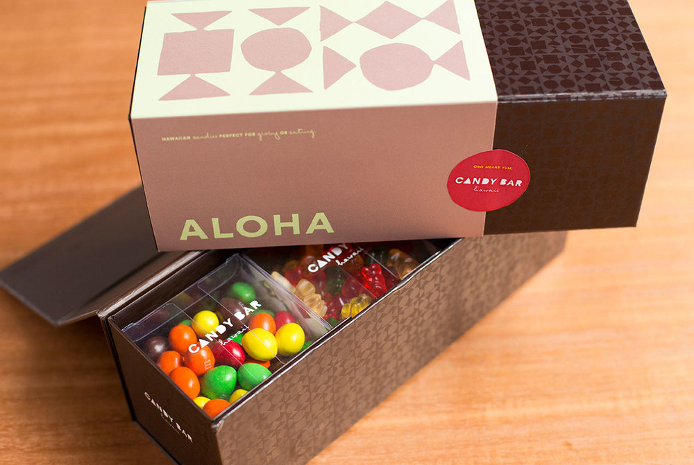 Candy Bar Hawaii Packaging