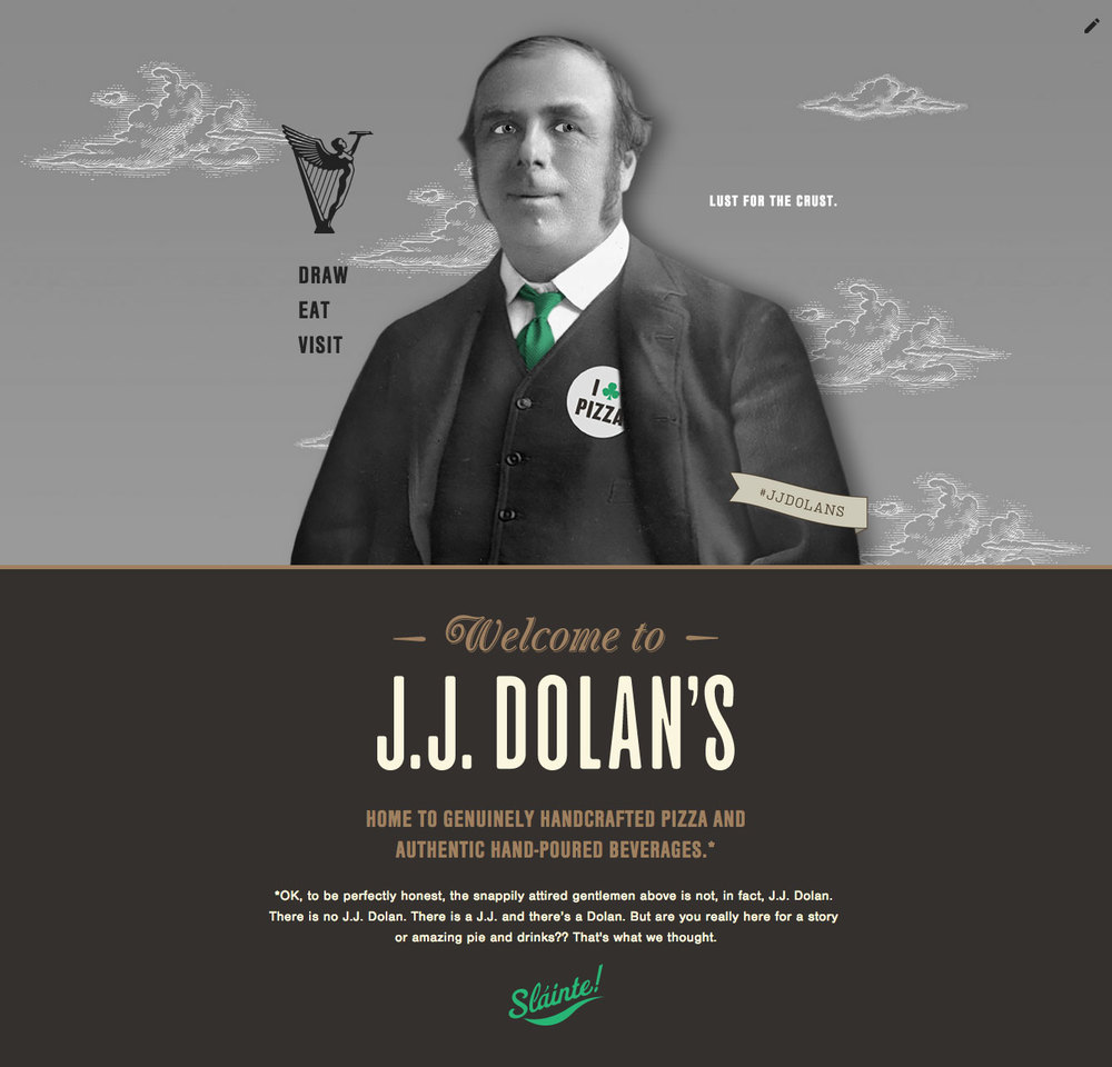 JJ Dolan's Website