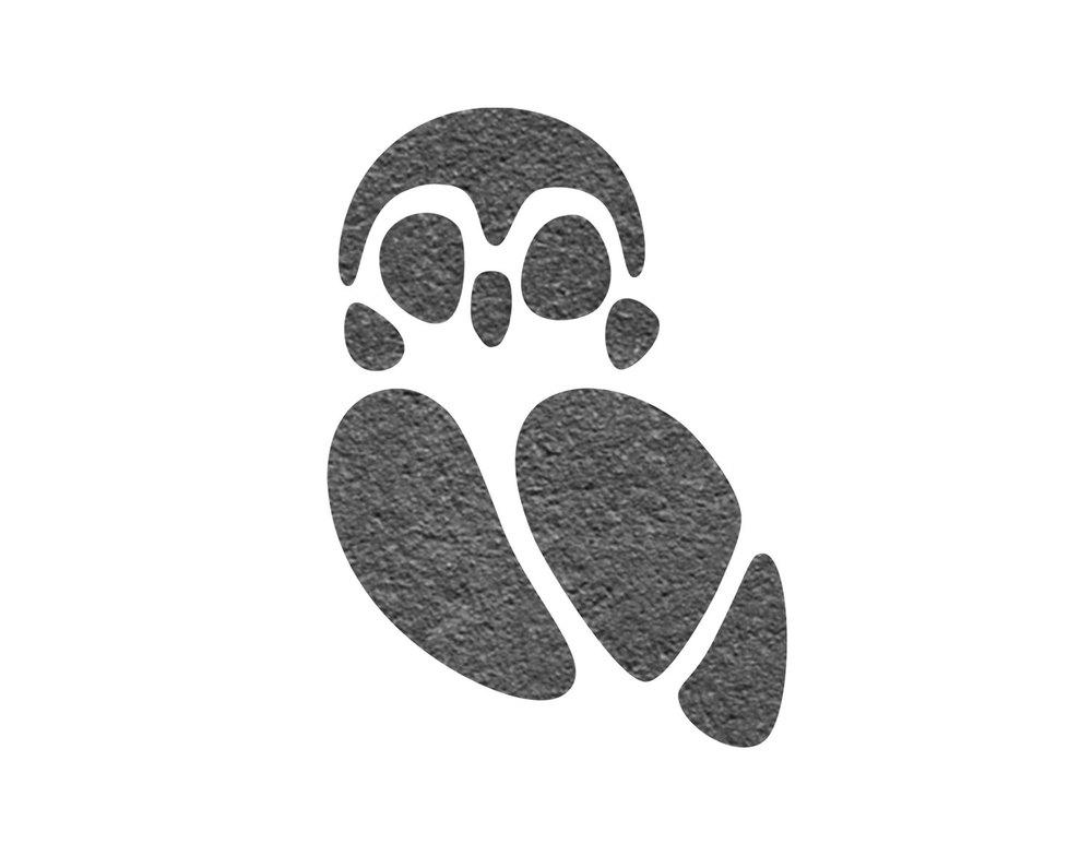 Pueo Stone Logo