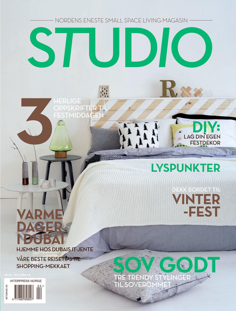 Redaktør for STUDIO utgave 04 - 2012