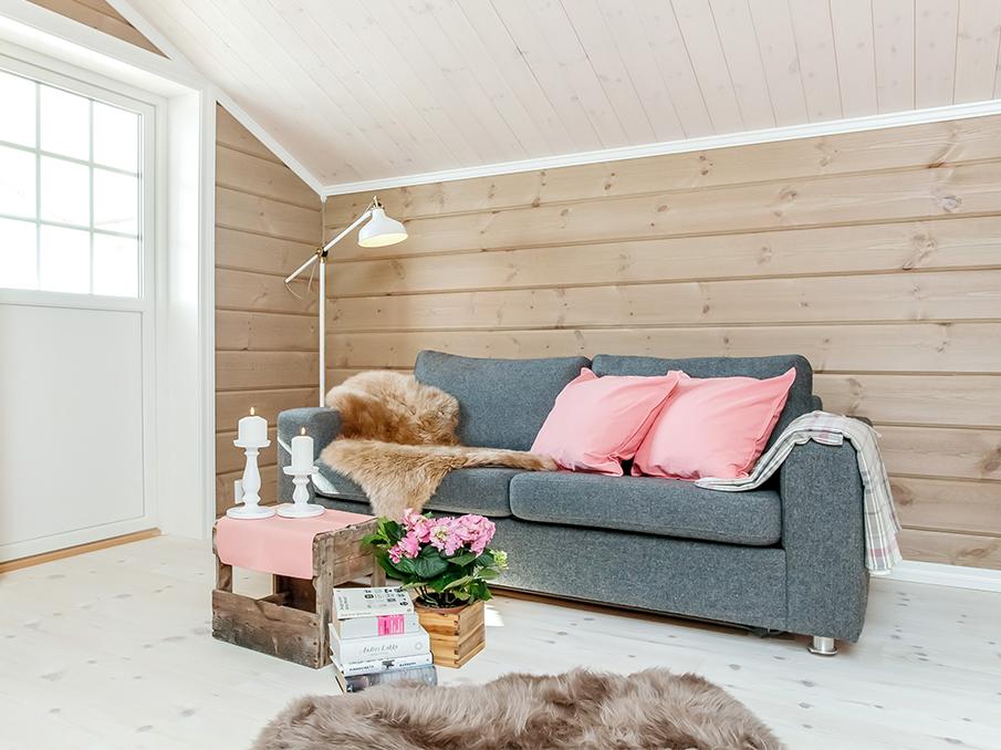 RingAlm Tre - Styling hytte Sjusjøen