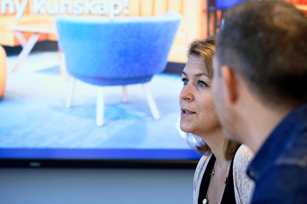 Caroline Domeij på Västsvenska Handelskammaren i Göteborg