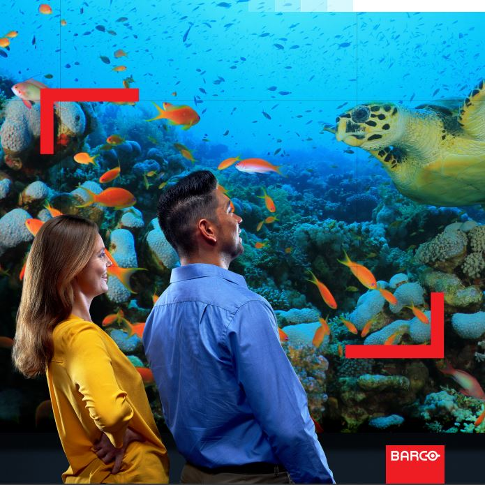 Barco Unisee - Sometimes a new innovation creates a revolution that reshapes the entire market. With the Barco UniSee® system, Barco completely redesigned and optimized every component of the LCD video wall, resulting in a new way to look at large screen visualization.