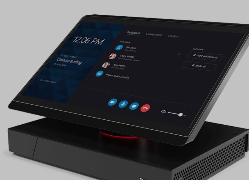 ThinkSmart Hub 500 - Ett kompakt allt-i-ett Skype Room System