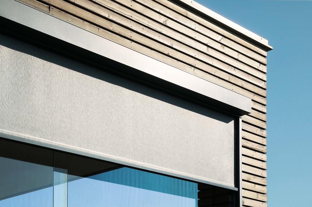 Textilscreens / Fenstermarkisen: Detail