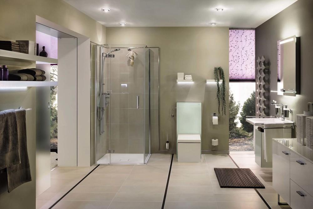 Plissees & Faltstores: Badezimmer