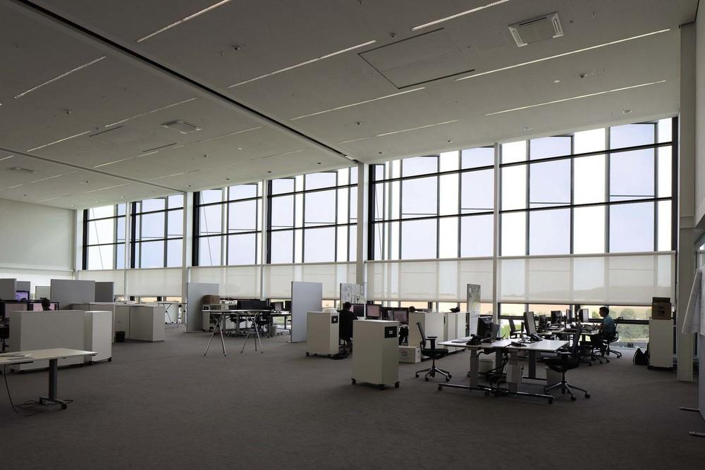 Rollos Innenbeschattung - Loft Büro