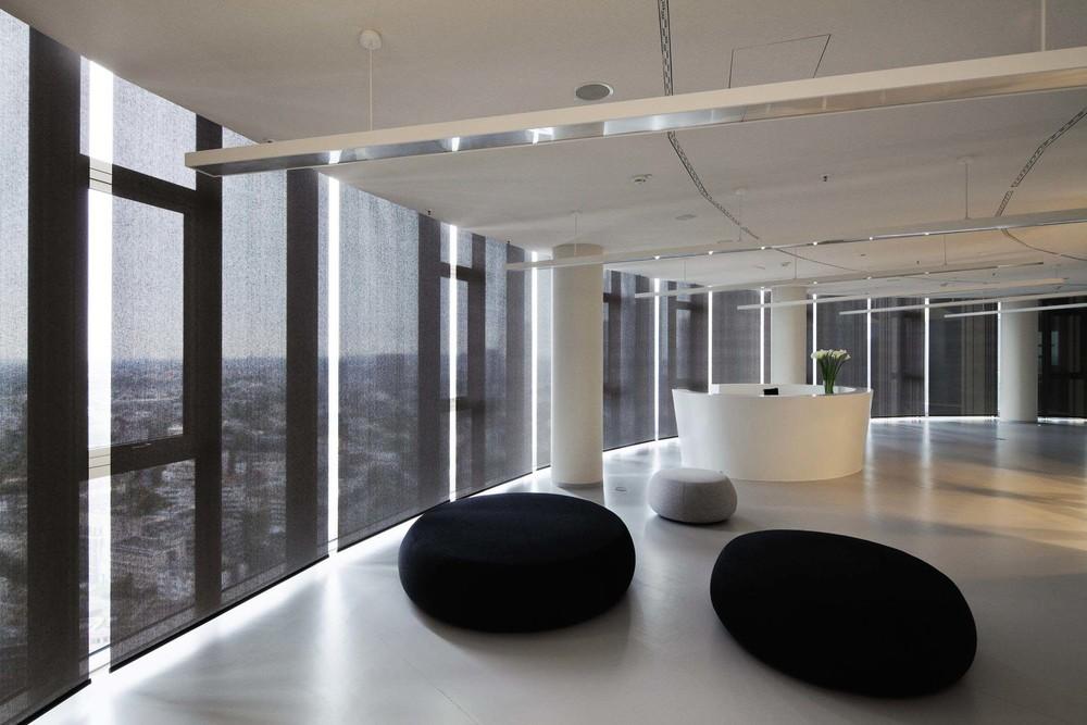 Objektrollos Innenbeschattung - Lounge