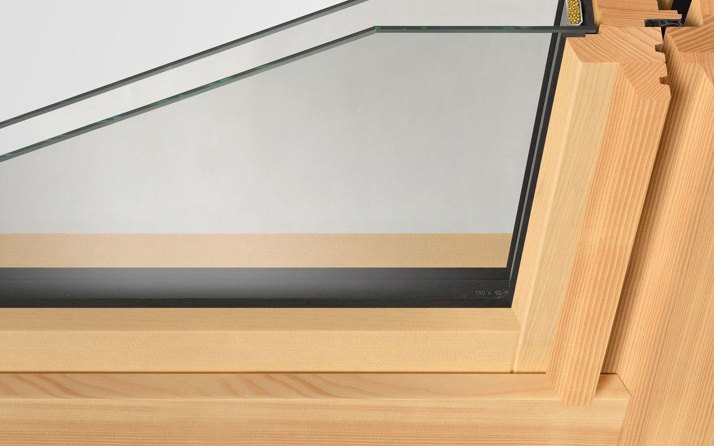 Holzfenster Aufbau