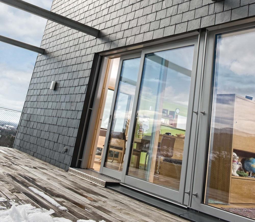 Holz-Aluminiumfenster - Außen robust, innen wohnlich