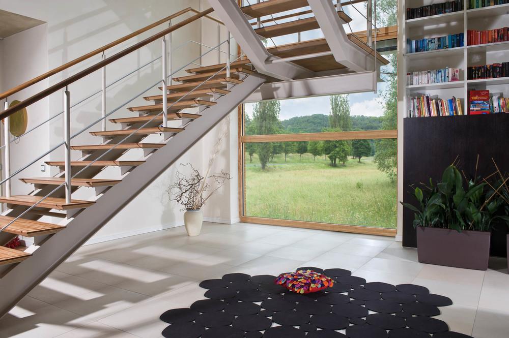 Holz-Aluminiumfenster - Großflächige Fensterfronten