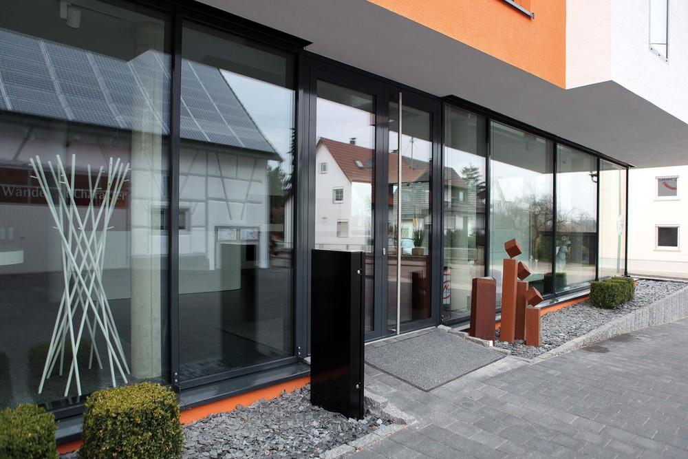 Fensterbau - Glas-Alumimumfassade in Riegel-Pfostenbauweise