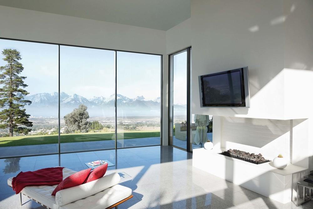 Fensterbau - Nahtlose Übergänge zwischen Innen- und Außenbereich