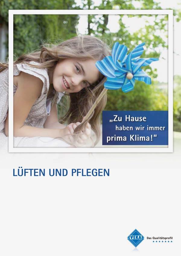 Kunststofffenster Lüften & Pflegen