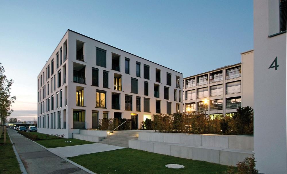 Aluminiumfenster Wohnungsbau
