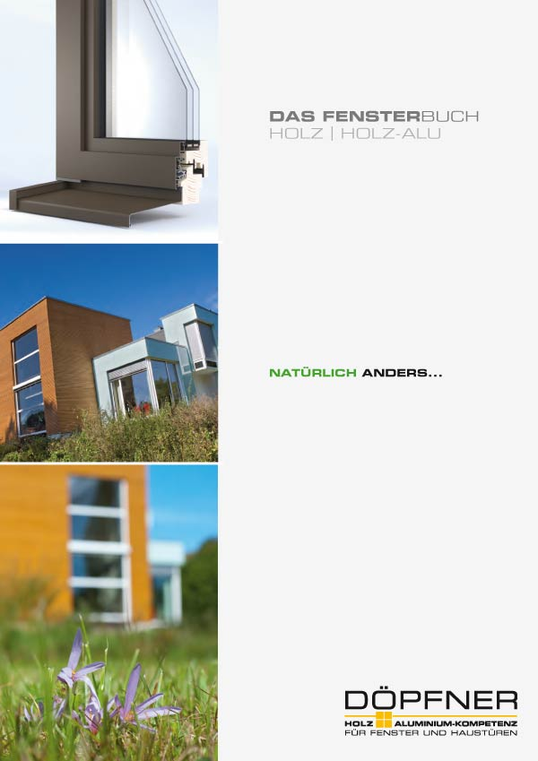 Holz-Aluminiumfenster Katalog