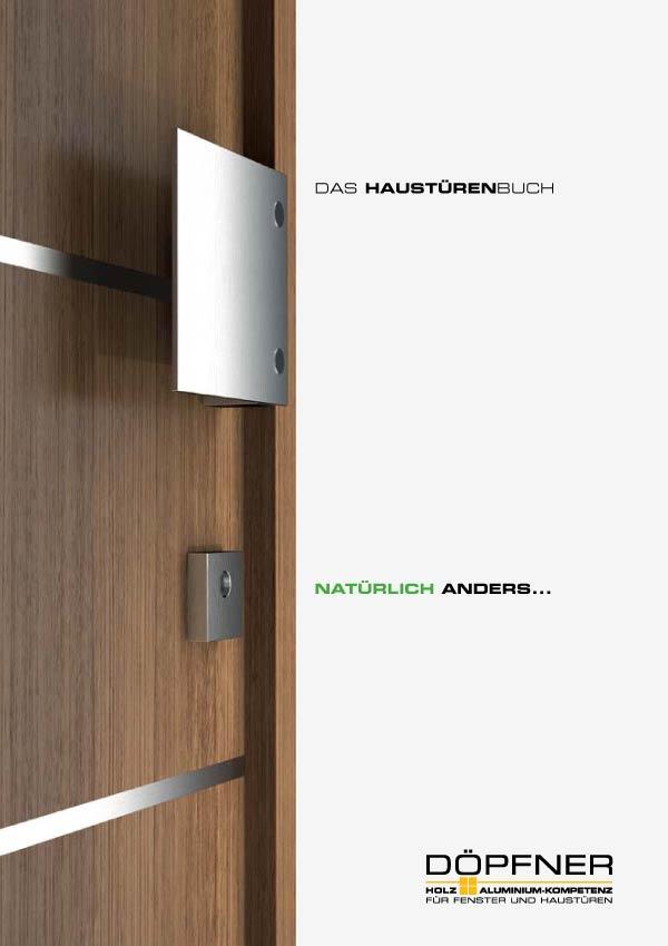 Holz Aluminiumhaustüren Katalog