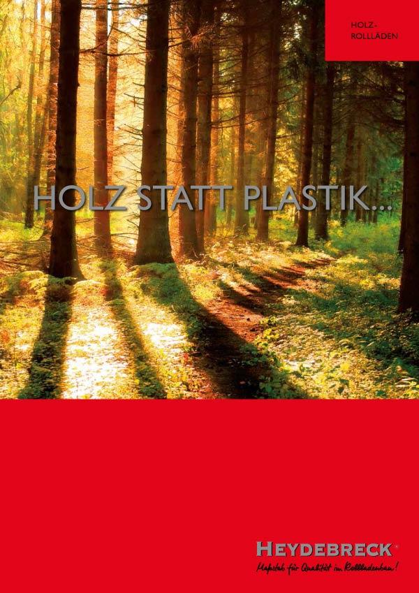 Heydebreck Katalog Holzrollladen Systeme