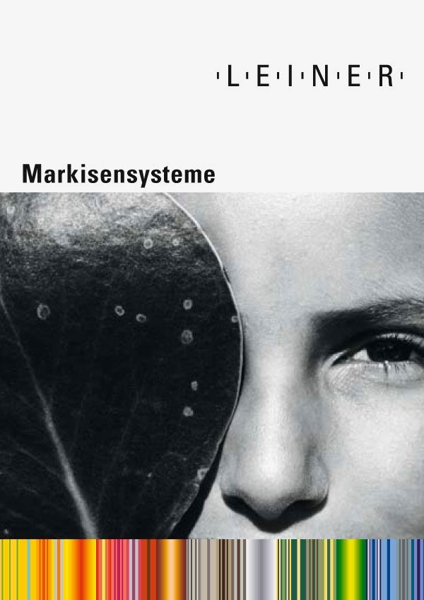 Übersicht Leiner Markisen Systeme