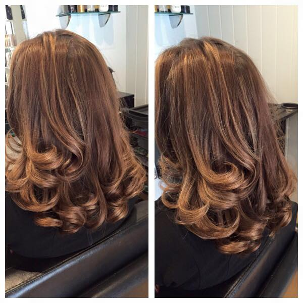 long hair blow dry styles bouncy blowdry done by our senior stylist the 3166 | 1486034387777