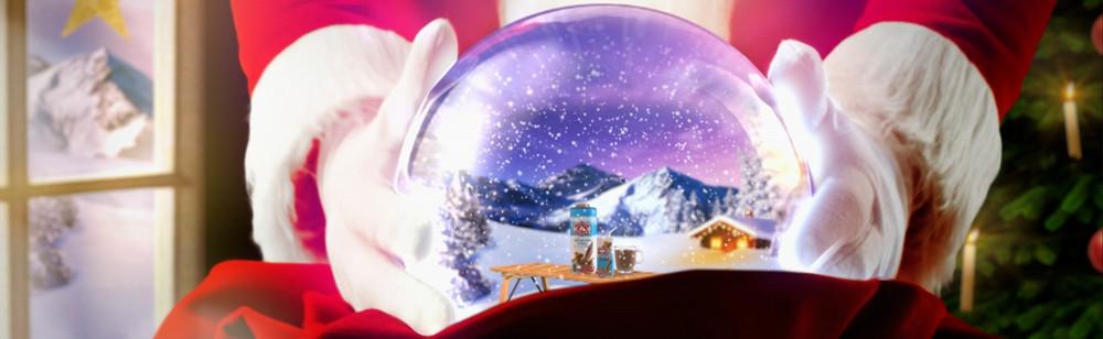 Bärenmarke Promotion TV-Spot Weihnachtskugel