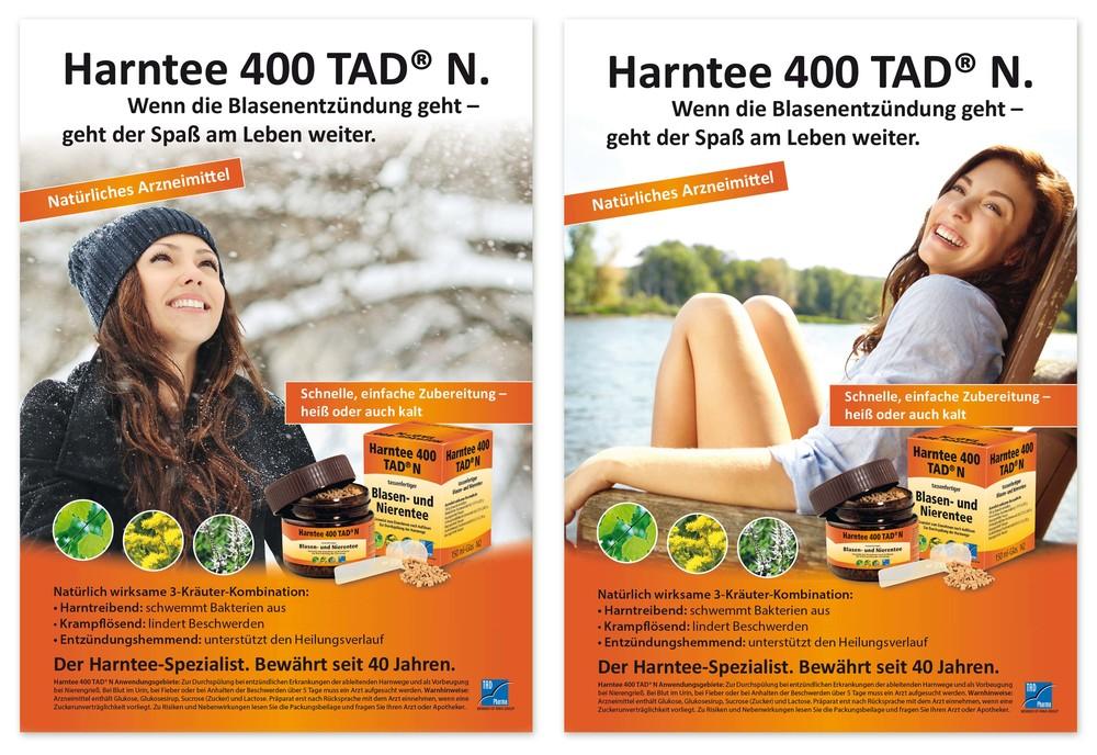 TAD Harntee Anzeige Sommer Winter