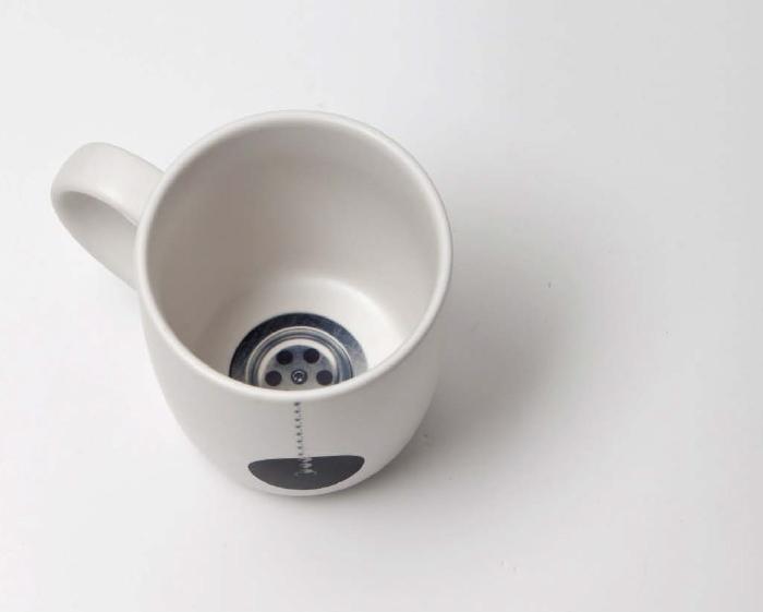 PROPAGANDA : Mug Design. You can enjoy with the mug to surprises after a coffee time.