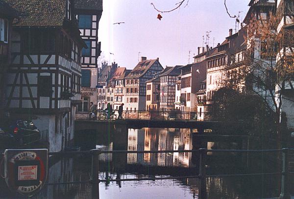 Strasbourg la petite france. foto crta