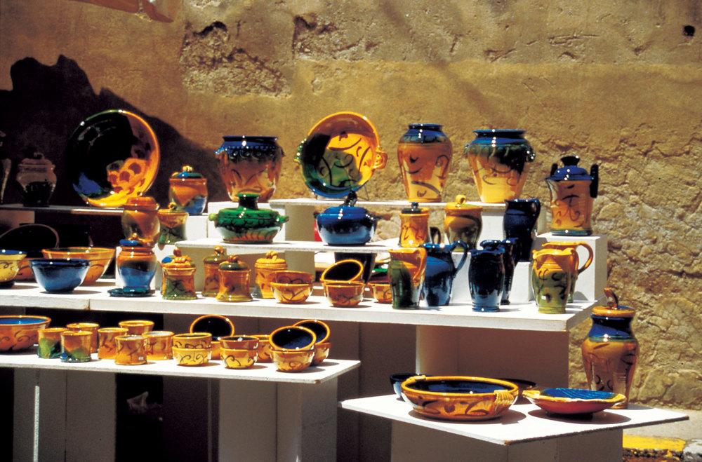 keramik från Provence. foto T.Kreiser