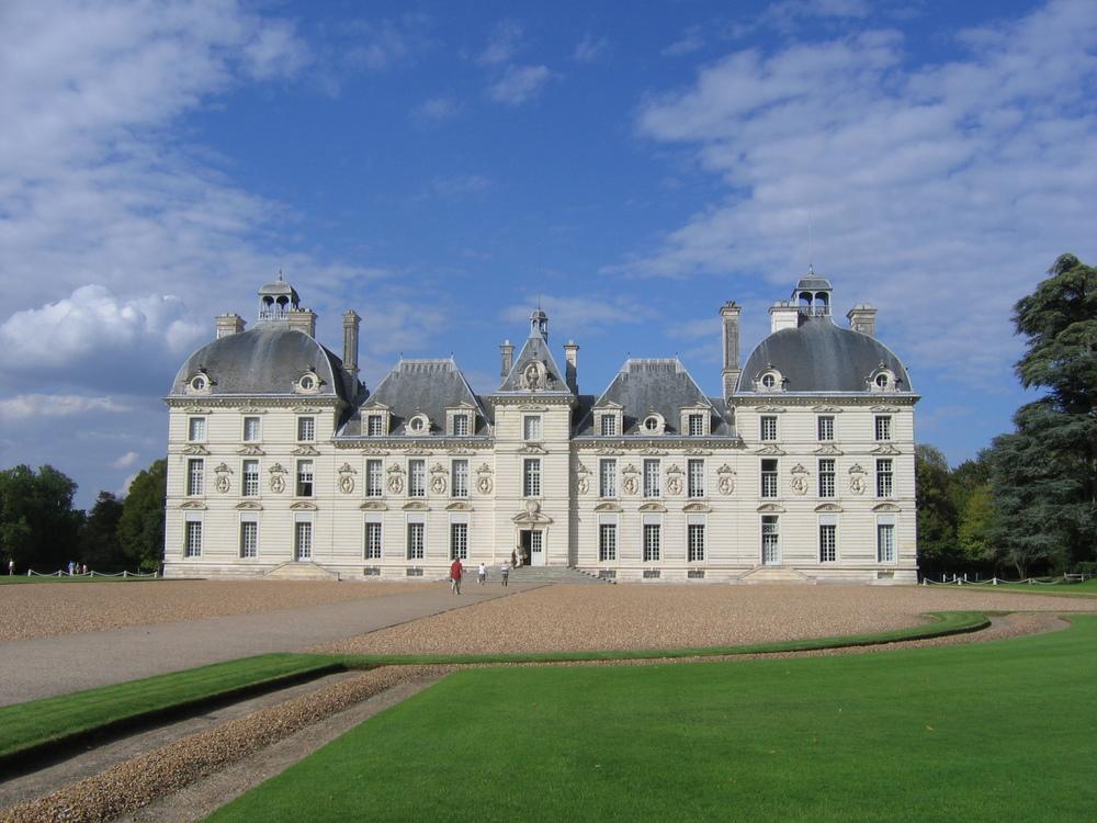 slottet i cheverny, förebild för Tintins moulinsart.foto lvt.
