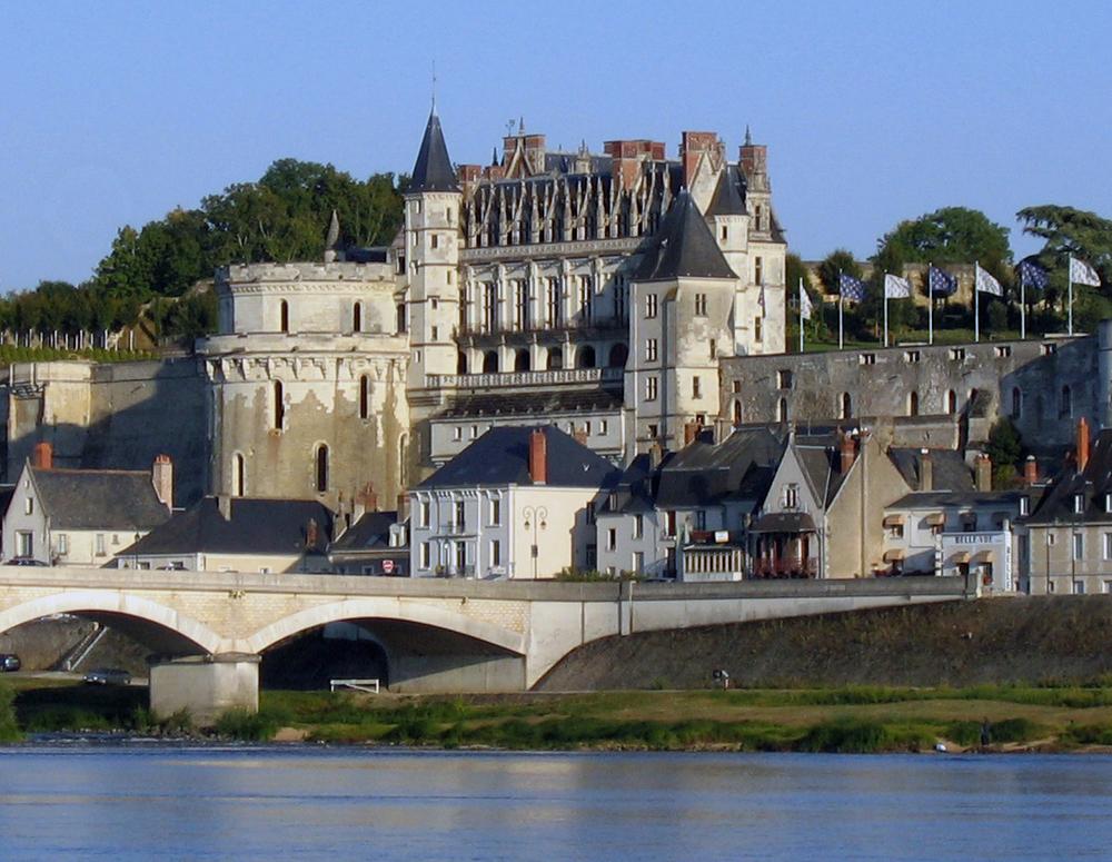 slottet i amboise. foto lvt.
