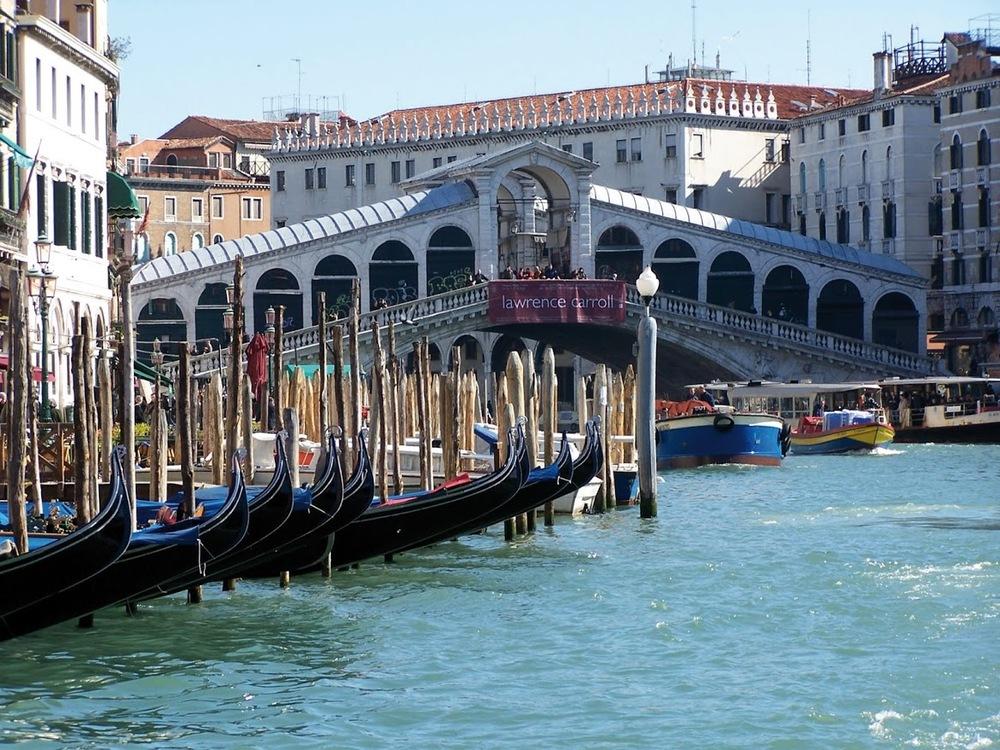 Venedig, Rialtobron.