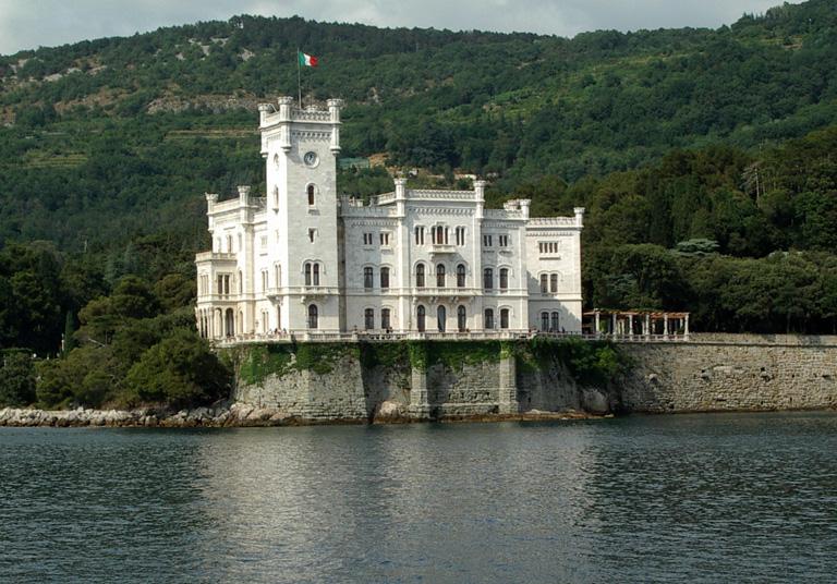 Trieste, miramare.