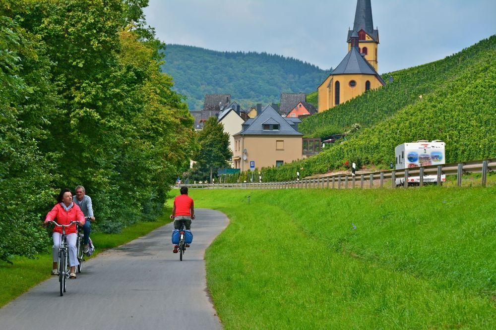 cykelvägen längs mosel