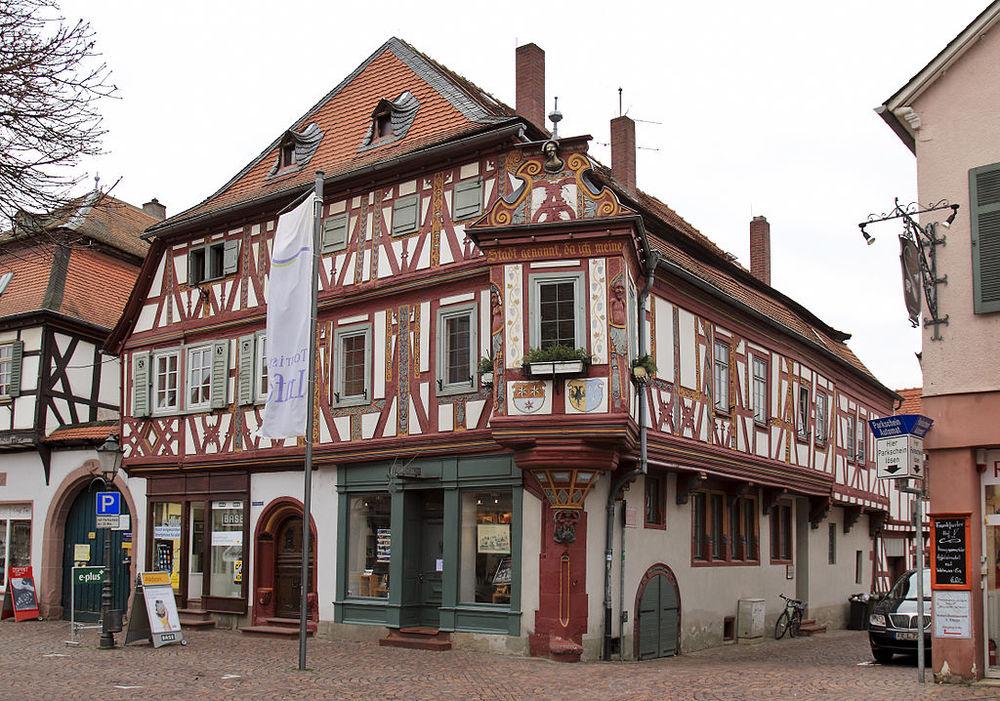 Seligenstadt, Einhardhaus. foto Rudolf Stricker