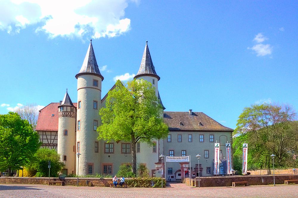slottet i Lohr. foto Sven Teschke