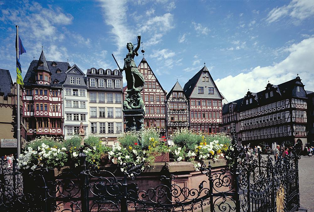 Frankfurt, Marktplatz. foto Marth, Gundhard