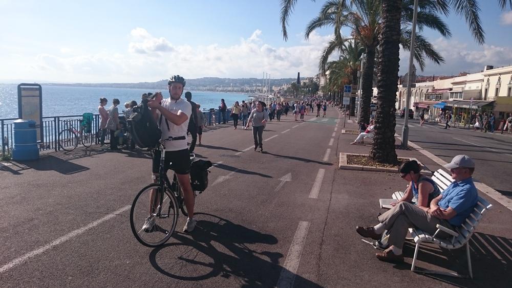 Promenade des Anglais i Nice